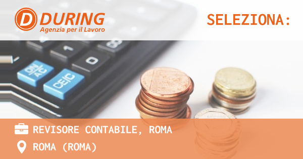 REVISORE CONTABILE, ROMA