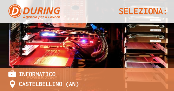 OFFERTA LAVORO - informatico - CASTELBELLINO (AN)