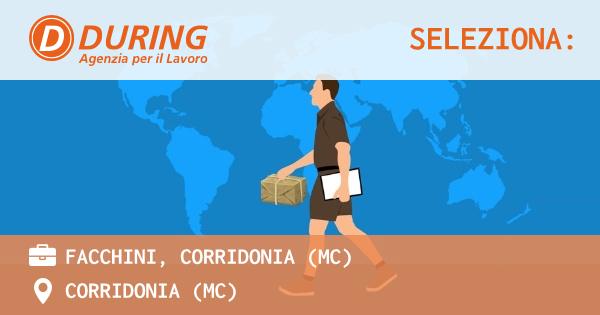 OFFERTA LAVORO - FACCHINI, CORRIDONIA (MC) - CORRIDONIA (MC)