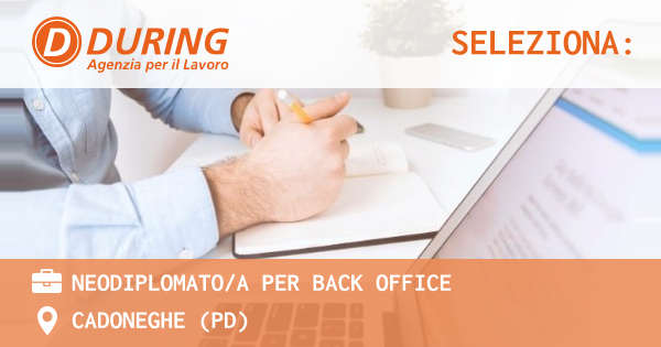 NEODIPLOMATOA PER BACK OFFICE