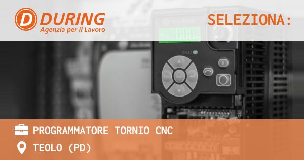 PROGRAMMATORE TORNIO CNC