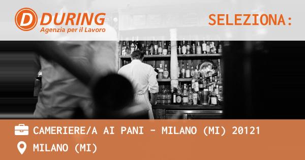 CAMERIEREA AI PANI - MILANO (MI) 20121