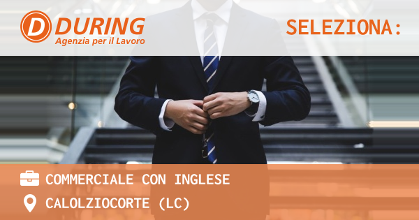 COMMERCIALE CON INGLESE