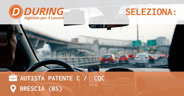 Offerte Di Lavoro Autista Patente C Con Cqc A Bari - Ikea Blog